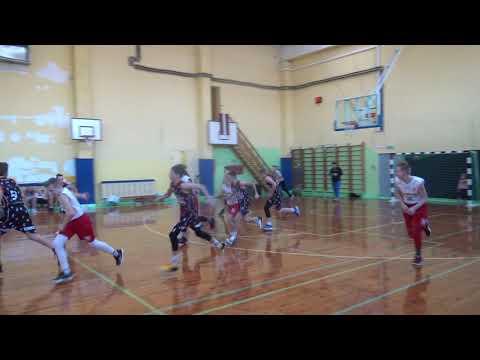 LJBL U-14 Superlīga IMSS 2005 66:33 BS Rīga/Basketbola Klase 2005 [16.02.2019.]