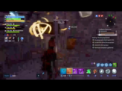 Fortnite save the world - fighting mutant storms