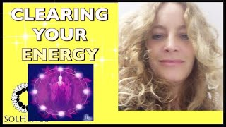 CLEANSE YOUR BIO FIELD WITH CHRIST LIGHT AND THE VIOLET FLAME  (plus an earth energy meditation)