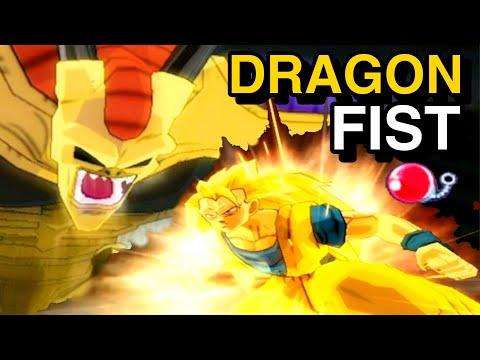 Red Potara Hirudegarn Vs SSJ3 Goku! Perfect DRAGON FIST Plan! Budokai Tenkaichi 3