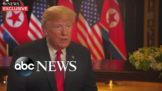 President Trump opens up about historic summit (FULL EXCLUSIVE INTERVIEW with George Stephanopoulos)