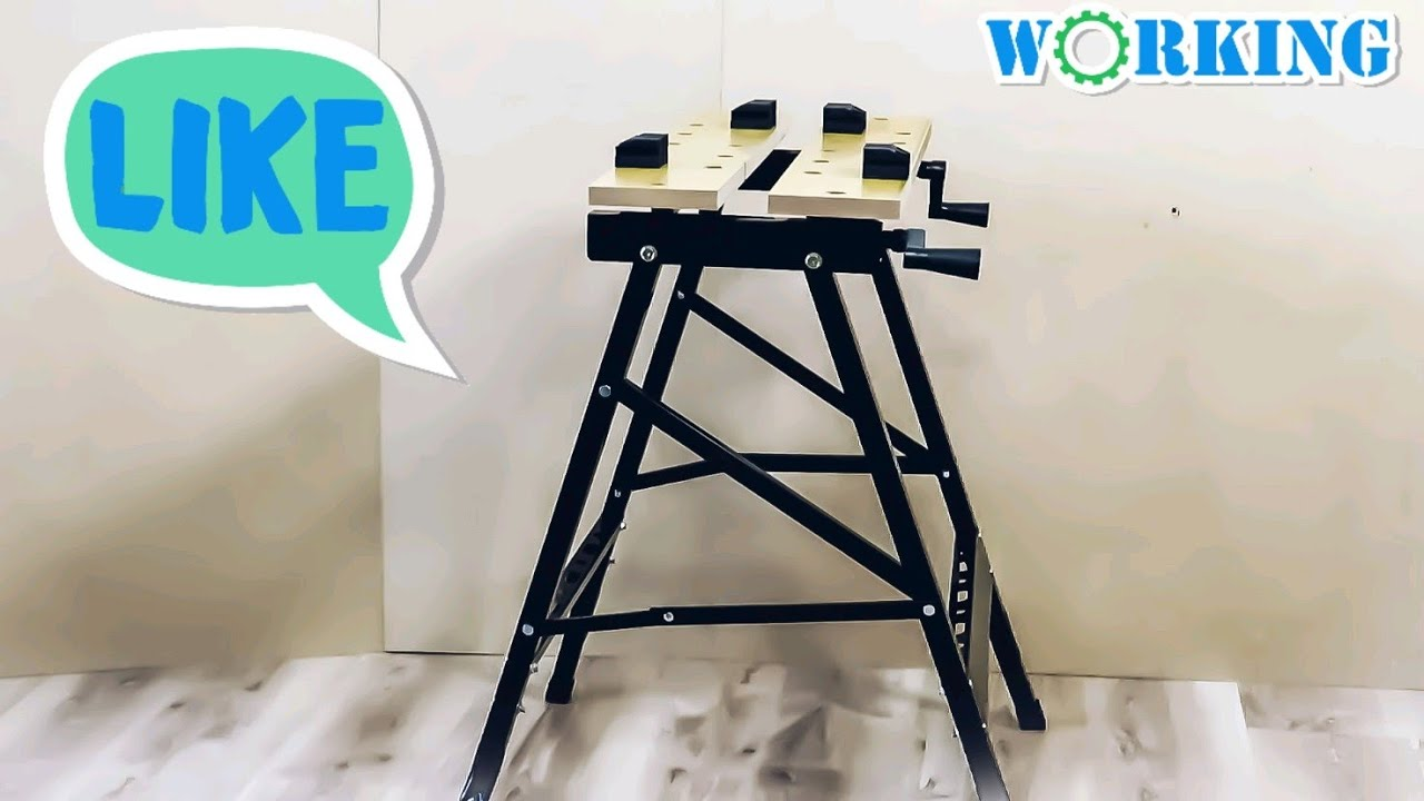 Workbench With Vise Review And Unboxing