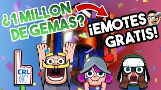 ¡1 MILLON DE GEMAS Y EMOTES GRATIS! | FANTASY ROYALE | CLASH ROYALE SUPERCELL