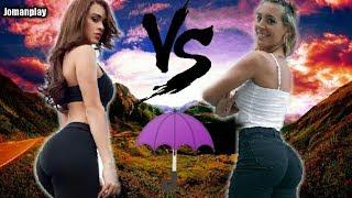 Sol Perez vs Yanet Garcia | Batalla de Diosas | Chicas del Clima | Jomanplay
