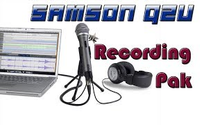 Обзор комплекта звукозаписи от Samson- Samson q2u