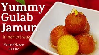 Cover images #Yummy Gulab Jamun / പെർഫെക്റ്റ് ആയി ഗുലാബ് ജാമുൻ തയ്യാറാക്കാം