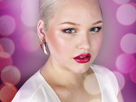Glamorous Summer: Strawberry Sorbet Inspired - Makeup Tutorial