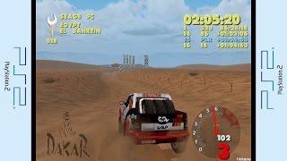 PS2 - Paris-Dakar Rally Gameplay P.9