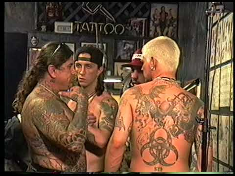 Biohazard Guys Hanging Outside A Tattoo Shop On Sunset Blvd