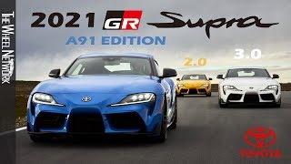 2021 Toyota Supra A91 Edition | 2.0 | 3.0 Premium (US Spec)