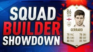 FIFA 19 | SQUAD BUILDER SHOWDOWN ADVENT CALENDAR | ICON STEVEN GERRARD vs AJ3