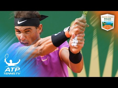 Nadal, Murray and Wawrinka fight to victory | Monte-Carlo Rolex Masters 2017 Day 4 Highlights
