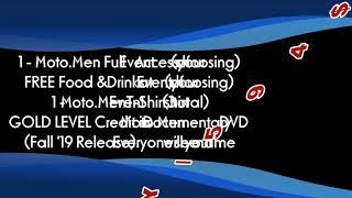 MOTO MEN Club Membership Info