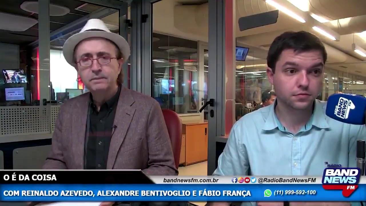 Jornalista Reinaldo Azevedo confirma morte do apresentador Gugu Liberato