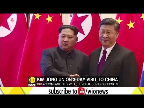 North Korean leader Kim Jong Un visits China for summit with Xi Jinping