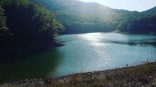 Крым 11 Сентября 2019. Озеро в горах, пробуем мидии. #Крым #Озеровгорах #Горы #Селосоколиное