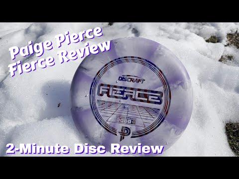 Paige Pierce Fierce | 2-Minute Disc Review (Giveaway Details Next Video)