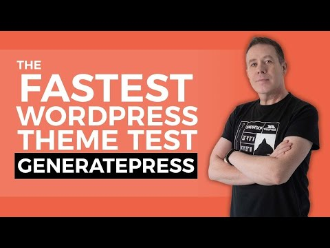 Fastest Theme For WordPress & Elementor? | GeneratePress 👍🔥