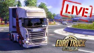 [LIVE] Euro Truck Simulator 2 + G27 - É UMA CILADA BINO!