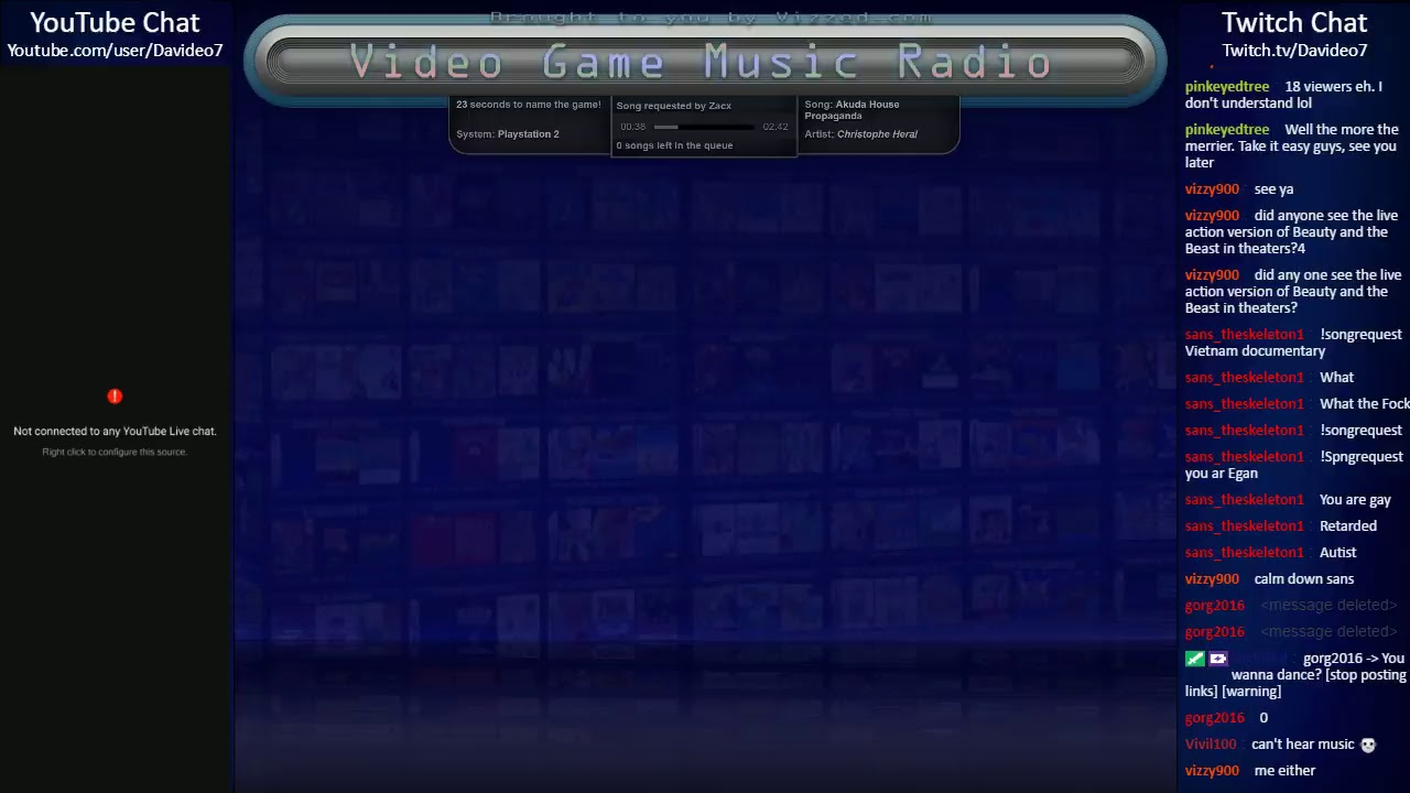 Video Game Music Radio = Request Songs at Vizzed com/Radio