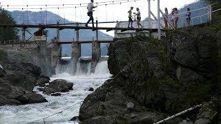 В поисках Хариуса. Рыбалка на Чемальской ГЭС. Горный Алтай.