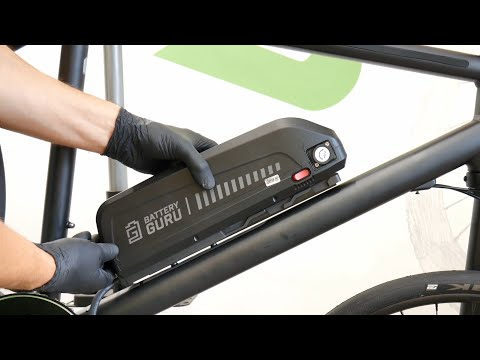 Step-By-Step E-Bike Conversion. What Problems You May Have, Assembling The Motor + Battery. TUTORIAL