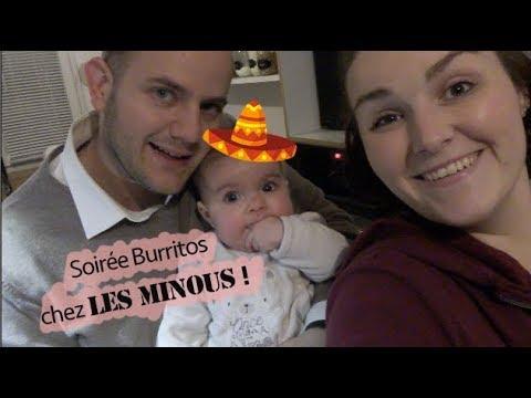 [. VLOG .] Retour de course - Soirée Burritos !