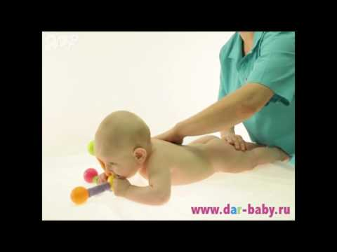 Массаж и гимнастика для ребенка 10 месяцев