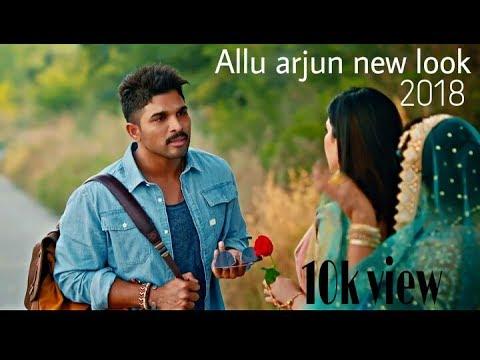 Allu Arjun Latest Look 2018 Youtube