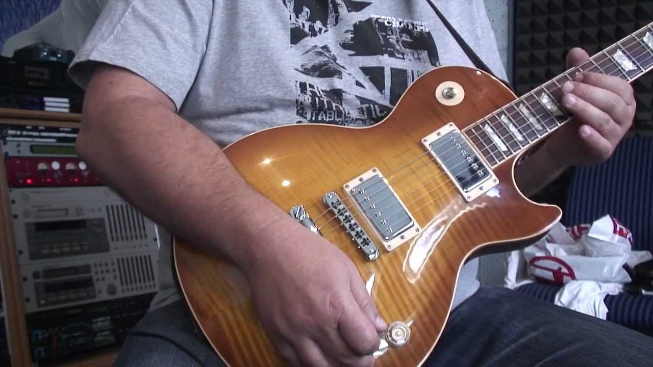 Gibson Les Paul Tone Volume Control Knob Tutorial Guitar Wiring Schematic 2 1 Lesson Youtube