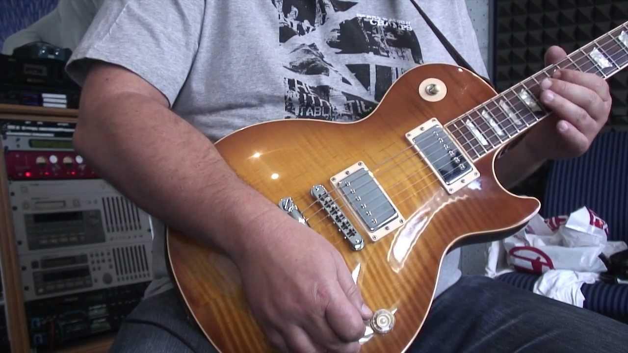 Gibson Les Paul Studio Deluxe Wiring Diagram Explain Schematic And Diagrams Tone Volume Control Knob Tutorial Guitar Lesson Youtube