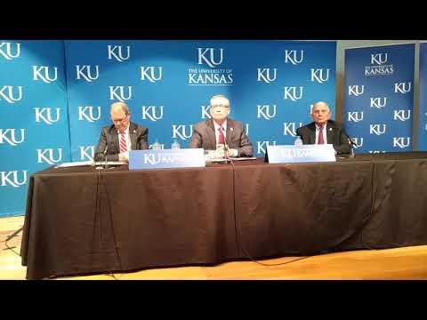 Jeff Long introduced as KU athletic director