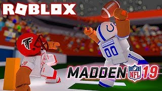 NFL MADDEN 2019 IN ROBLOX (Roblox NFL 2)