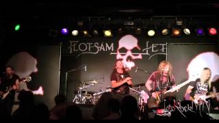 Flotsam and Jetsam, She Took an Axe @ Queens Hall, 19/05/2015