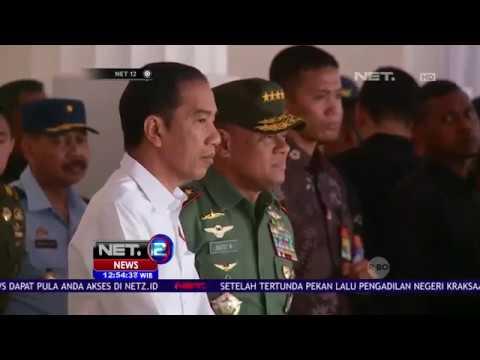 Presiden Jokowi Cek Gladi Bersih Tahapan Upacara 17 Agustus
