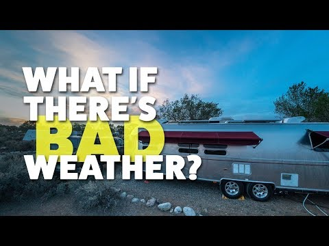 Tuesday Talk: Bad Weather When Airstreaming & What Weather App We Use