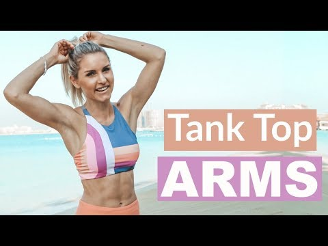 Tank Top Arms Workout UPPER BODY TONE | Rebecca Louise