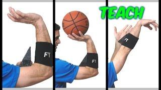 TEACH  training throw in basketball    ДЕЛАТЬ БРОСКИ