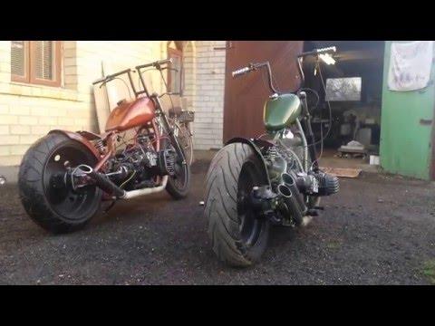 Dnepr MT10 ir  K750 bobbers