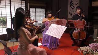 Mozart「アイネクライネナハトムジーク 第1楽章」 2018若き演奏家たちによるクラシックアンサンブル in 古民家山十邸