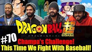 Dragon Ball Super ENGLISH DUB - Episode 70 - Group Reaction