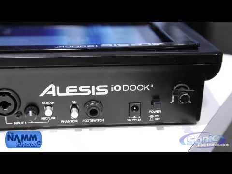 Alesis IO Dock II | NAMM 2014