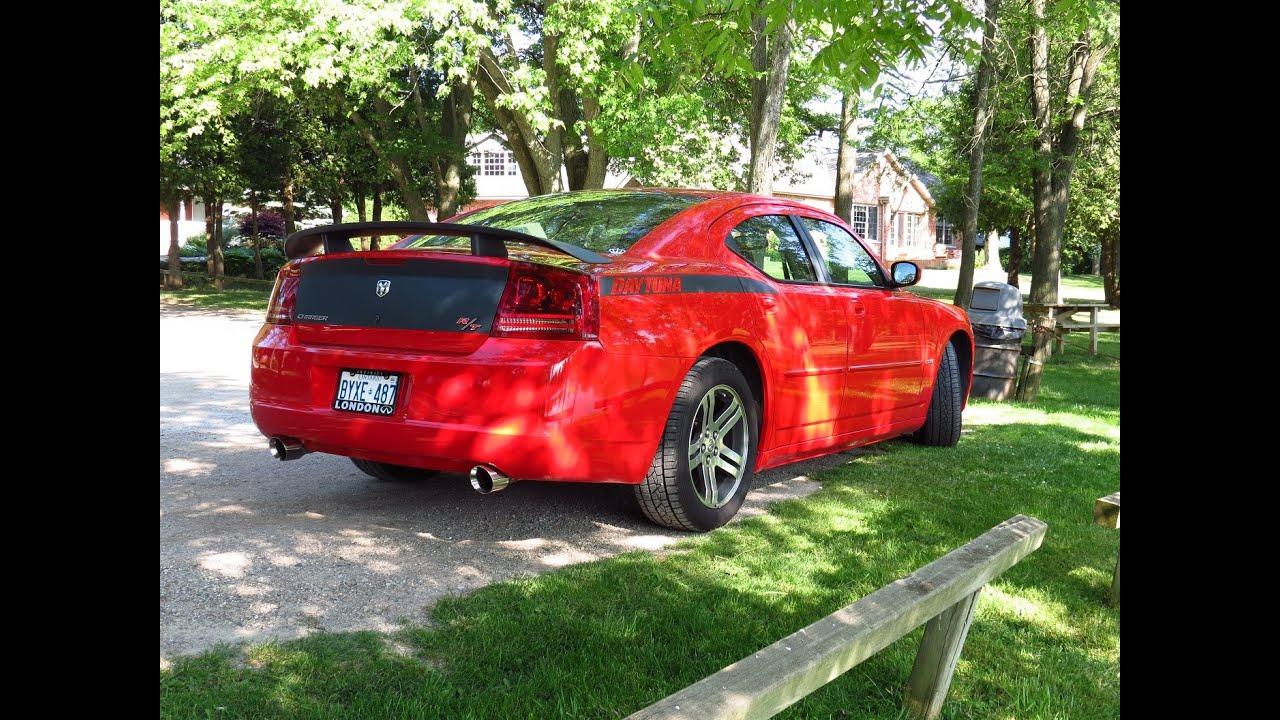 All Types 2006 charger daytona : 2006 Dodge Charger Daytona R/T | Flowmaster Super 40 | Resonator ...
