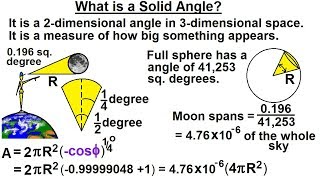 Calculus 3: Triple Integrals (15 of 25) What is a Solid Angle?