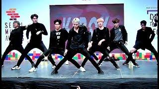 """K-BOY"" cover ""Simon Says+BOSS+Cherry Bomb"" (NCT127) @ ""SMA Dance To You Seoul Thailand 2018"""