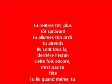 Patrick Bruel feat La Fouine (Les Maux D'enfants) avec paroles