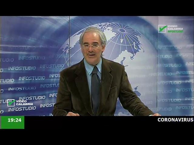 InfoStudio il telegiornale della Calabria notizie e approfondimenti - 19 Marzo 2020 ore 19.15