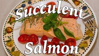 the most succulent poached salmon keto recipe 2