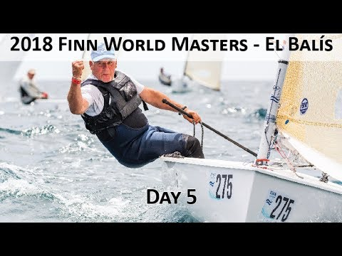 Highlights from Day 5 at the 2018 Finn World Masters in El Balís