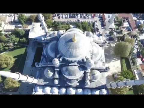 Sultanahmet Camii Havadan Görüntülendi